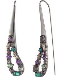 Carolee - Multicolour Paisley Threader Earrings - Lyst
