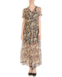 The Kooples - Wanted Floral-print Maxi Dress - Lyst