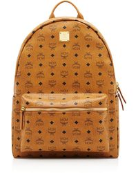 MCM - Stark M Stud Small Backpack - Lyst