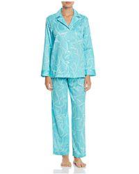 Ralph Lauren - Lauren Portofino Sateen Long Pajama Set - Lyst