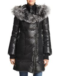 Mackage - Lizette Fox Fur Trim Down Coat - Lyst