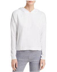 Marc New York - Performance Hooded Seamed Sweatshirt - Lyst