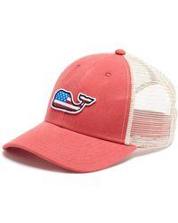 Vineyard Vines - Whale Flag Patch Trucker Hat - Lyst