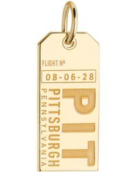 Jet Set Candy - Pennsylvania Pit Luggage Tag Charm - Lyst