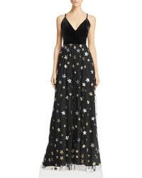Aqua - Sequined Star Gown - Lyst