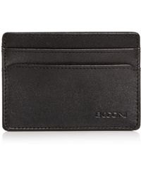 Boconi - Collins Weekender Leather Card Case - Lyst