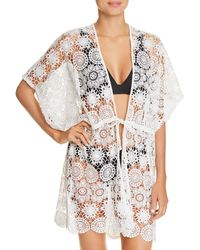 Echo - Shell Lace Swim Cover-up - Lyst