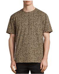 AllSaints - Apex Crew T-shirt - Lyst