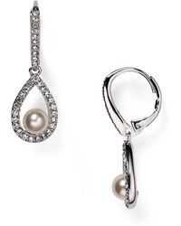Nadri | Swarovski Crystal Drop Earrings | Lyst