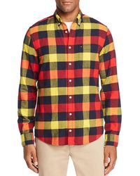 Tommy Hilfiger - Buffalo Check Flannel Button-down Shirt - Lyst