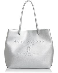 Marc Jacobs - Logo East/west Leather Tote - Lyst