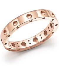 Roberto Coin - 18k Rose Gold Symphony Dotted Ring - Lyst