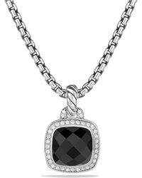 David Yurman - Albion Pendant With Black Onyx And Diamonds - Lyst