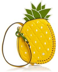 Tory Burch - Pineapple Leather Coin Pouch - Lyst