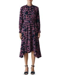 Whistles - Butterfly Print Shirt Dress - Lyst