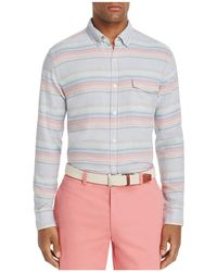 Vineyard Vines - Sunset Lake Cosby Stripe Button-down Slim Fit Shirt - Lyst