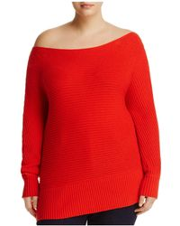 Lucky Brand - Off-the-shoulder Jumper - Lyst