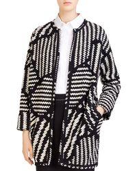 Gerard Darel - Marla Graphic-knit Jacket - Lyst