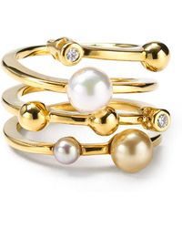 Majorica - Endless Simulated Pearl Ring - Lyst