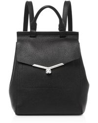 Botkier - Vivi Pebbled-leather Backpack - Lyst
