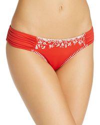 Lucky Brand - Stitch In Time Side Sash Bikini Bottom - Lyst