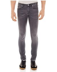 Sandro - Pixies Washed Slim Fit Jeans In Grey - Lyst