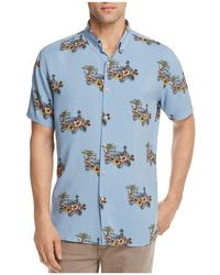 Barney Cools - Tropical Regular Fit Button-down Shirt - Lyst