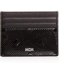 ce767097417 Gucci Embossed Lion Wallet in Black for Men - Lyst