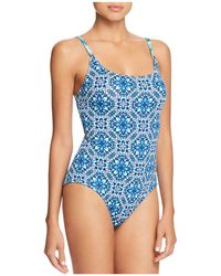 Tommy Bahama - Reversible Lace One Piece Swimsuit - Lyst