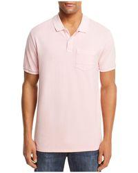 Scotch & Soda - Blauw Pocket Polo Shirt - Lyst