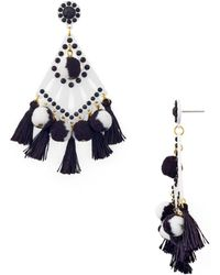 Rebecca Minkoff - Cha-cha Tassel Drop Earrings - Lyst