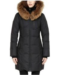 SOIA & KYO - Soia And Kyo Chrissy Fur Trim Hood Down Coat - Lyst