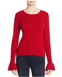 Cupcakes And Cashmere - Tina Bell Sleeve Jumper - Lyst
