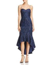 Aidan Mattox - Embellished High/low Dress - Lyst