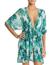 4adfe3396c Robin Piccone Penelope Crochet Dress Swim Cover Up in White - Lyst
