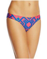 Red Carter - Reversible Hipster Bikini Bottom - Lyst