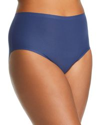 c3e289f04486 Wacoal Women's Stretch-cotton Briefs - Patriot Blue in Blue - Lyst