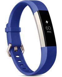 Fitbit - Electric Blue - Lyst