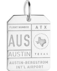 Jet Set Candy - Aus Austin Luggage Tag Charm - Lyst