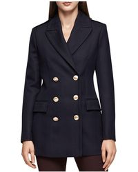 Reiss - Pax Double-breasted Wool Jacket - Lyst