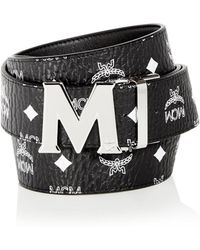 MCM | Claus Visetos Reversible Leather Belt | Lyst