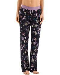 Hanro - Ami Floral Cotton Pajama Pants - Lyst