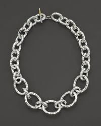 "Ippolita - Sterling Silver ""bastille"" Chain Necklace - Lyst"