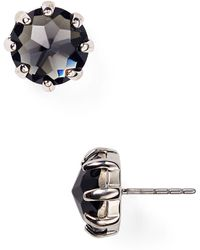 Rebecca Minkoff - Rhinestone Stud Earrings - Lyst