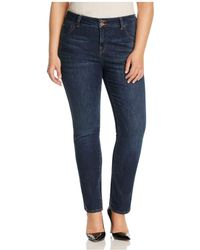 Lucky Brand - Emma Faded Straight Leg Jeans In Mystic Road - Lyst