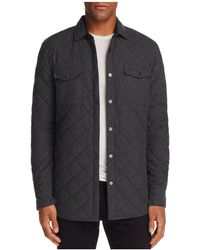 Sovereign Code - Redding Quilted Regular Fit Shirt Jacket - Lyst