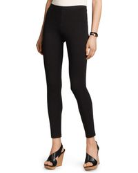 Karen Kane - Structured Knit Leggings - Lyst