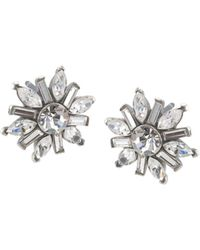 Carolee - Small Cluster Earrings - Lyst