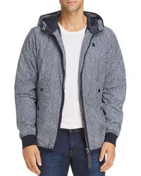 G-Star RAW - Whistler Hooded Jacket - Lyst