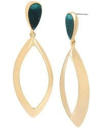 Robert Lee Morris - Teardrop Drop Earrings - Lyst